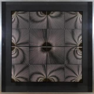 Kinetic art piece from Alberto Biasi 1972