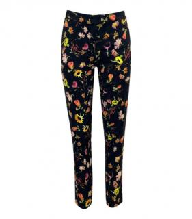 Moschino Cheap & Chic Floral Trousers