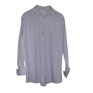 Brooks Brothers Blue Striped Shirt