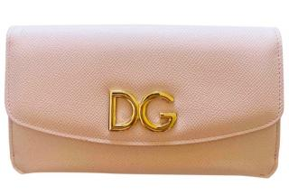 Dolce & Gabbana Pink-Nude DG Clutch