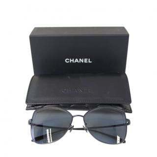 Chanel Black 4253 Cat-Eye Sunglasses