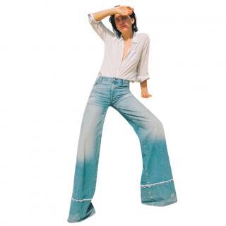 Nili Lotan Wide Leg Savina Jeans