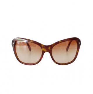 Prada Tortoiseshell Classic Sunglasses