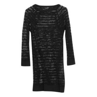 Isabel Marant Black Mesh Dress
