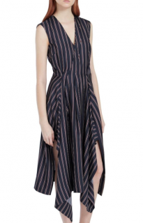 Mulberry Striped Samantha Dress