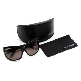 Dsquared2 Black Oversized Squared Sunglasses