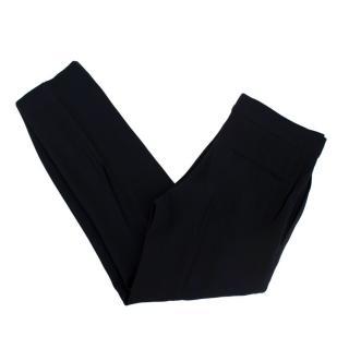 Alexander McQueen Black Lightweight Tailored Trousers
