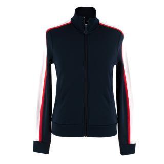 Tory Burch Sport Classic Track Navy Jacket