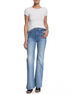 Rag & Bone Justine Wide-Leg Jeans