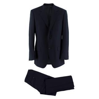 Prada Men's Classic Navy Wool Suit