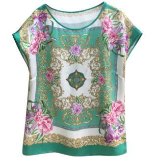 Luisa Spagnoli Silk Printed Tunic
