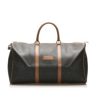 Dior Vintage Honeycomb  Boston Travel Bag