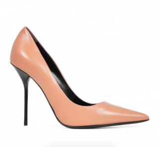 Tom Ford Nude Leather Stiletto Pumps
