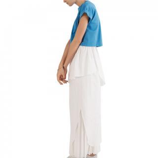 Enf�ld White Layered Column Skirt
