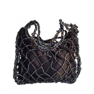 Bottega Veneta Vintage Beaded Tote Bag