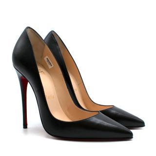 Christian Louboutin Black Leather So Kate Pumps
