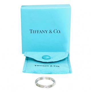 Tiffany & Co. Elsa Peretti Sterling Silver Ring with Diamond
