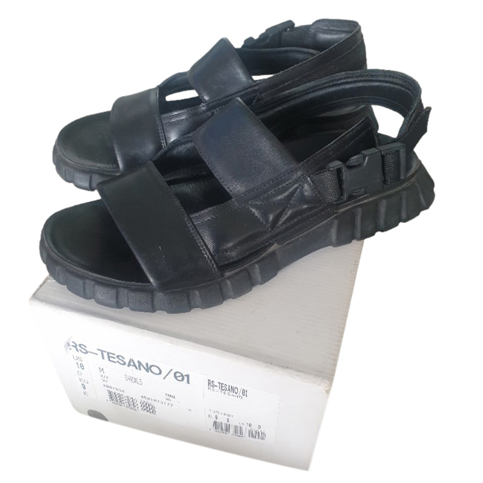 Bally men�s leather double strap sandals