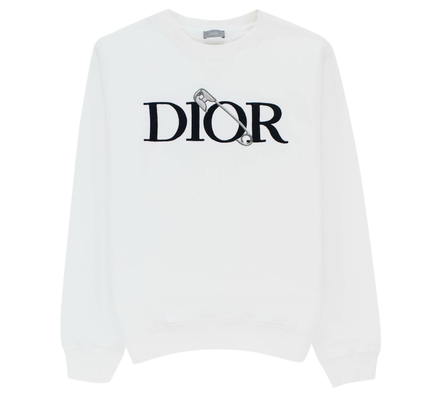 Dior Safety Pin Embroidered Jumper