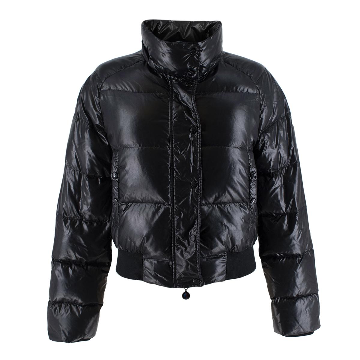 Moncler Black Padded Puffer Jacket