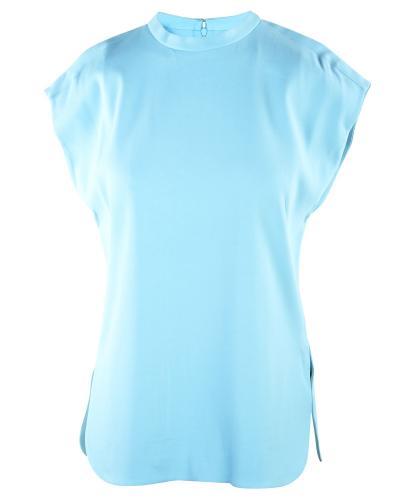 Balenciaga Sky Blue Structured Top