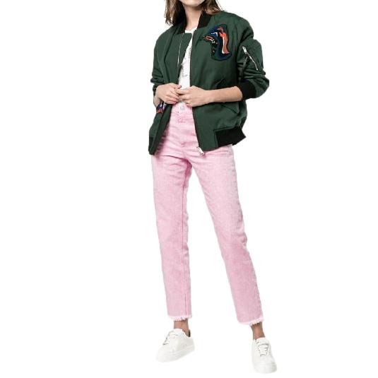 Isabel Marant Ankle Crop Pale Pink Jeans