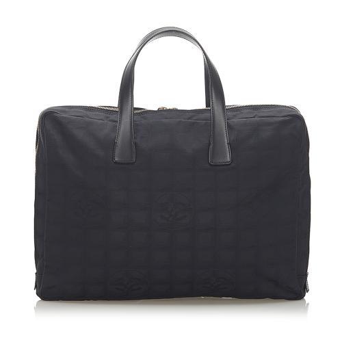 Chanel New Travel Line Nylon Travel/Business Bag