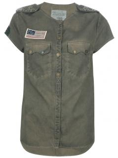 Zadig & Voltaire Military Style Tia Shirt