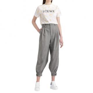 Loewe Striped Grey Balloon Pants