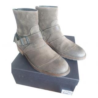 Belstaff Suede Trial Master Boots