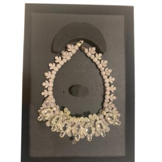 EK Thongpraset Crystal Collar Necklace