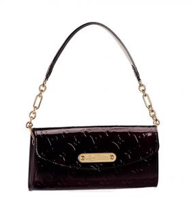 Louis Vuitton Amarante Monogram Vernis Sunset Boulevard Bag