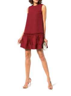Roksanda Burgundy Tanaga Sleeveless Swing Dress