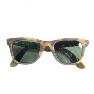 RAY-BAN camouflage classic Wayfarer sunglasses
