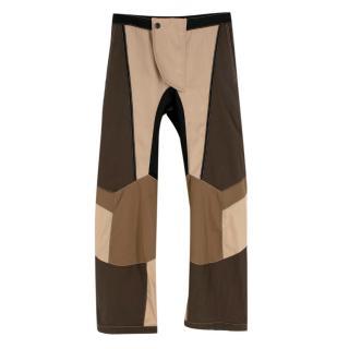 Tre by Natalie Ratabesi colour block trousers