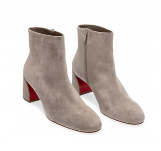 Christian Louboutin Suede Turela Ankle Boots