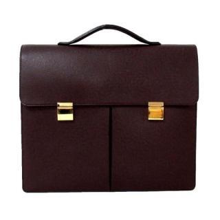 Louis Vuitton Taiga Serviette Kazan Briefcase