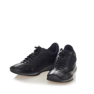 Prada Black Chunky Lace-Up Sneakers