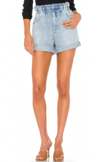 Frame Meridian Cuffed Paperbag Shorts