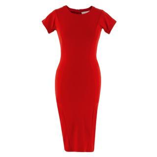 Stella McCartney Red Slim Dress