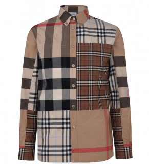Burberry Patchwork Terrence Shirt
