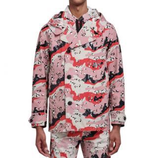 Stone Island Pink Desert Rain Jacket