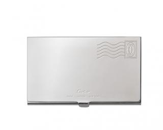 Cartier Envelope Design Solid Silver Business card holder