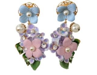 Dolce & Gabbana Hortensia Drop Earrings