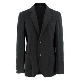Ermenegildo Zegna Mens Oxford Jersey Blazer