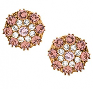 Dolce & Gabbana Crystal Embellished Round Earrings