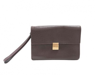 Louis Vuitton Taiga Selenga Wristlet Bag