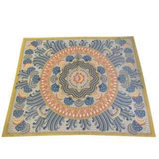 Hermes Printed Cotton Gauze Pareo 150cm x 180cm