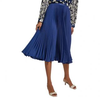 Polo Ralph Lauren Blue Pleated Skirt