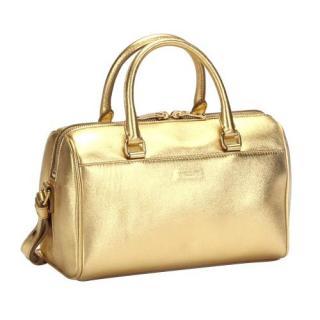 Saint Laurent Gold Classic Baby Duffle Bag